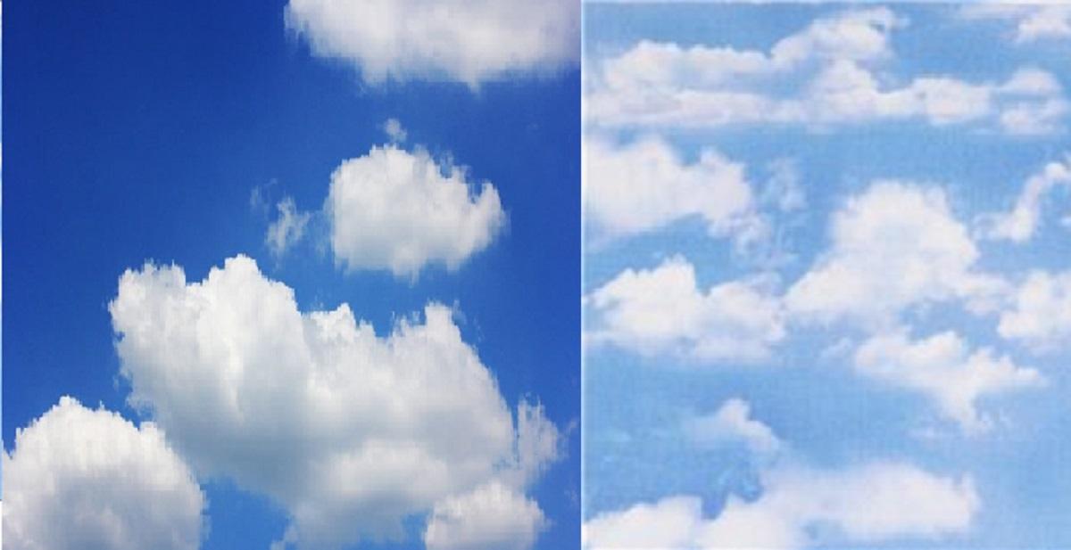 perchè il cielo non è blu come una volta