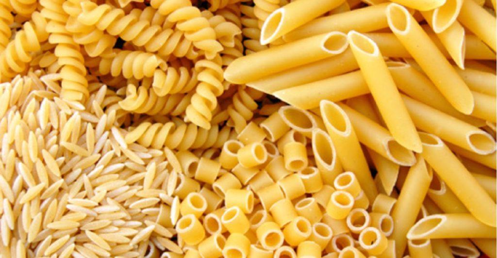 pasta italiana fatta con grano italiano marche
