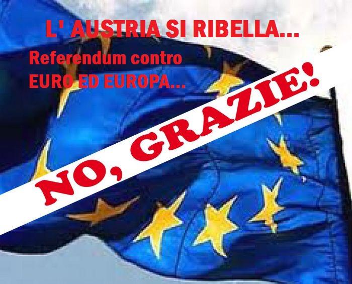Anche l'Austria è vicinissima al referendum.Guai in vista per l'UE.Il parlamento austriaco si riunisce
