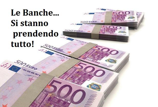 Banche e Banchieri hanno razzolato tutto! Cosa ci stanno lasciando? I LORO DEBITI