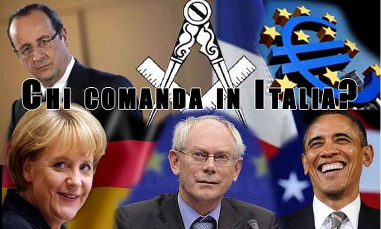 """Votare ha più un senso? Chiunque vinca, l'Europa è sovrana su tutti: """"COMANDIAMO NOI""""."""