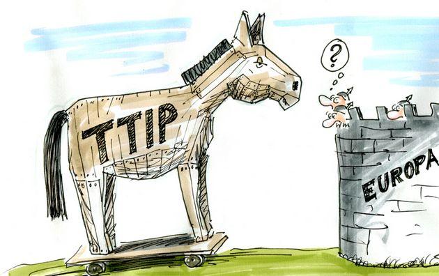 TTIP: Accordo Transatlantico che sa si Patto scellerato tra USA e UE... Ma nessuno ne parla!IL VIDEO
