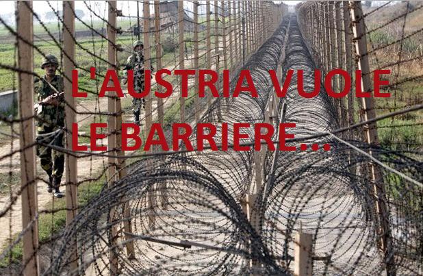 """L' Austria dice STOP: alza """"barriere anti-profughi"""" e fa riforma anti-Isis. Noi? Restiamo a guardare"""