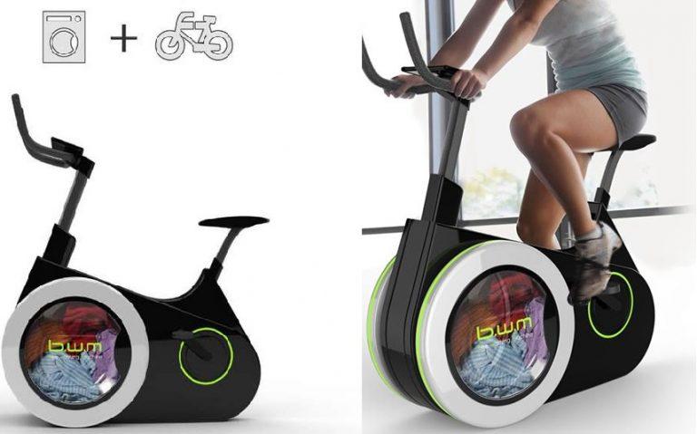 Bike Washing Machine: mentre pedali fai il bucato. L'invenzione straordinaria