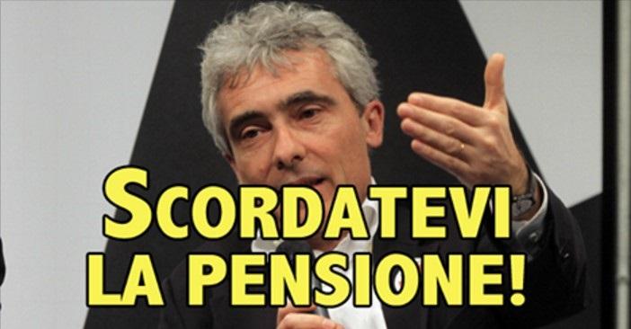 """Ora Boeri terrorizza i giovani: """"Andrete in pensione a 75 anni"""""""