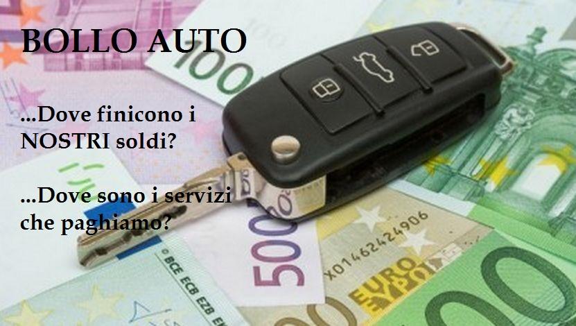 Bollo Auto:da tassa utile a Truffa Legalizzata. Dove finiscono i nostri soldi
