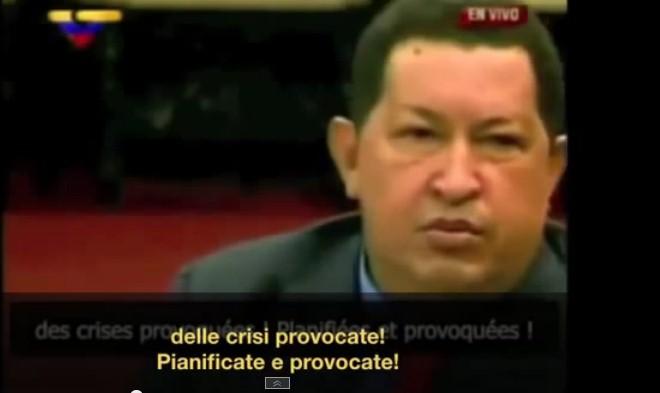 Quando Chavez disse che in Siria e Libia è stato tutto pianificato e provocato dall'imperialismo Usa.VIDEO