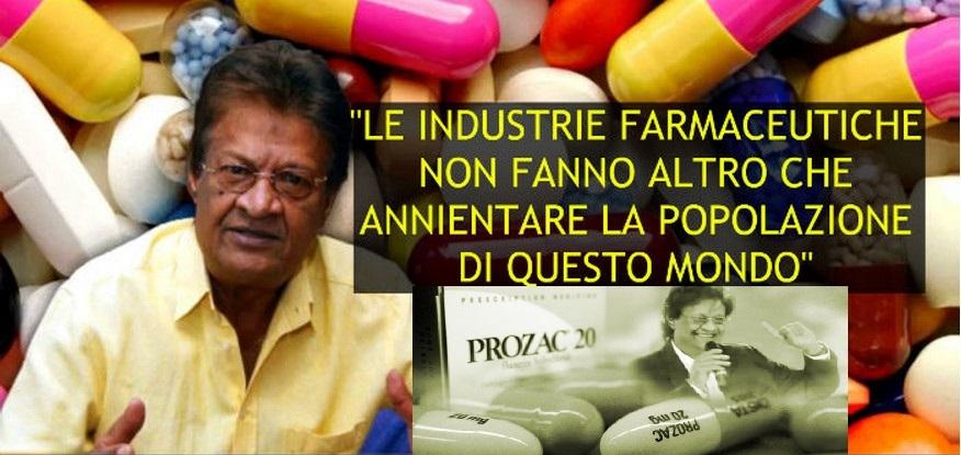 """John Virapen, Ex Dirigente Big Pharma: """"Per loro non siamo dei malati,SIAMO SOLO CONSUMATORI! VIDEO"""