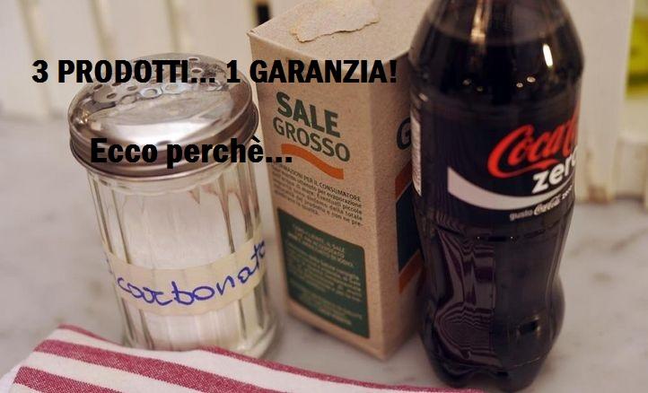 Coca Cola, Sale e Bicarbonato. Chi lo avrebbe mai detto! Il trio vincente per stappare i lavandini senza inquinare.Ecco come