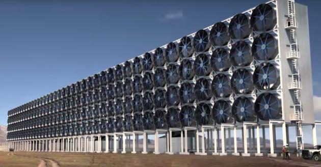 Come catturare la CO2 in atmosfera per produrre benzina, il caso di un impianto in Canada
