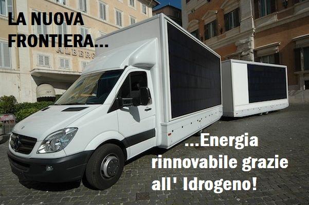 Ecco il primo Veicolo che produce Energia Rinnovabile...Grazie all' IDROGENO! FOTO