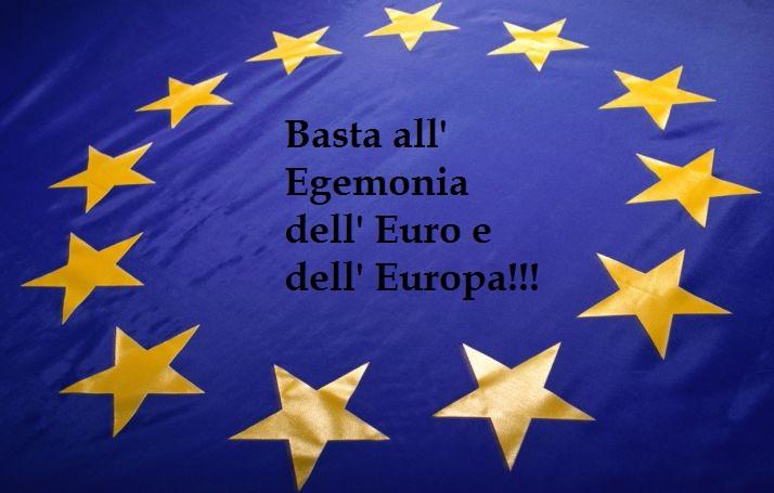 L' Alternativa in Europa? Esiste, ma bisogna avere il coraggio di prendere decisioni VERE!