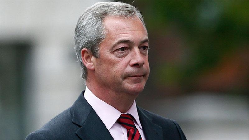 Minacce di morte per Farage e le sue giovani figlie, la Polizia conferma