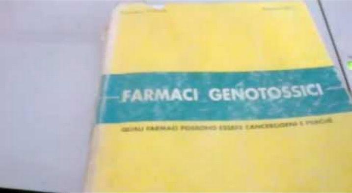 FARMACI GENOTOSSICI. Il Libro che le case Farmaceutiche tengono Nascosto!VIDEO