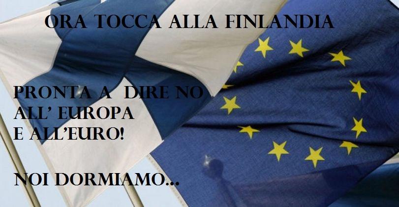 Anche la Finlandia è pronta per uscire dall' Euro! L'Europa trema mentre la Finlandia spera!