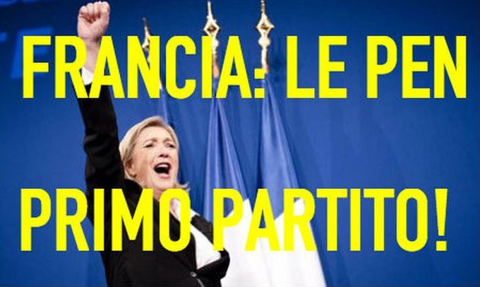 Aria di cambiamento...Dopo la Grecia, sarà la volta di Marine Le Pen in Francia! La politica trema....