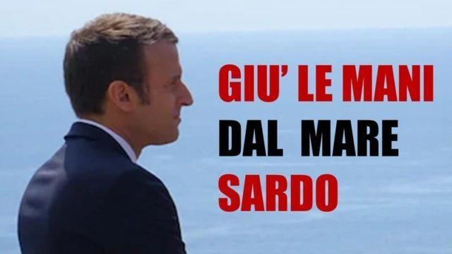 I francesi ritentano lo scippo del mare a largo della Sardegna