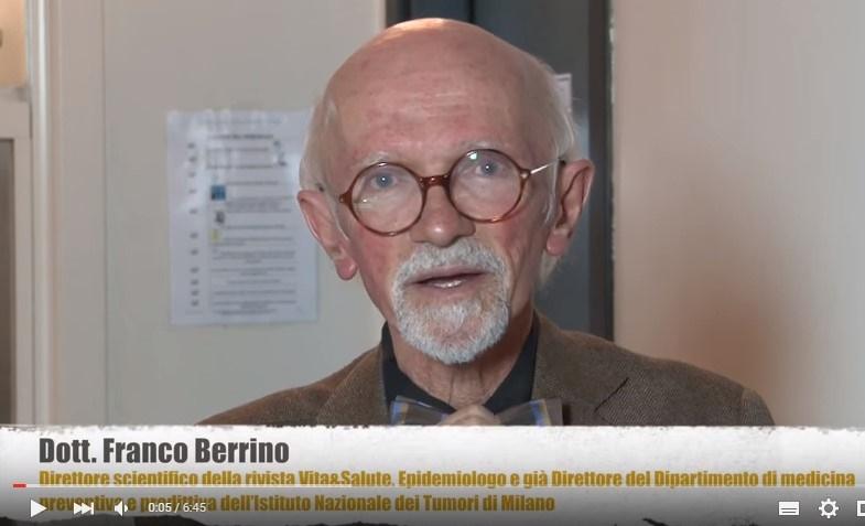 Dott. Franco Berrino:Ecco come dimagrire rapidamente senza dieta.IL VIDEO