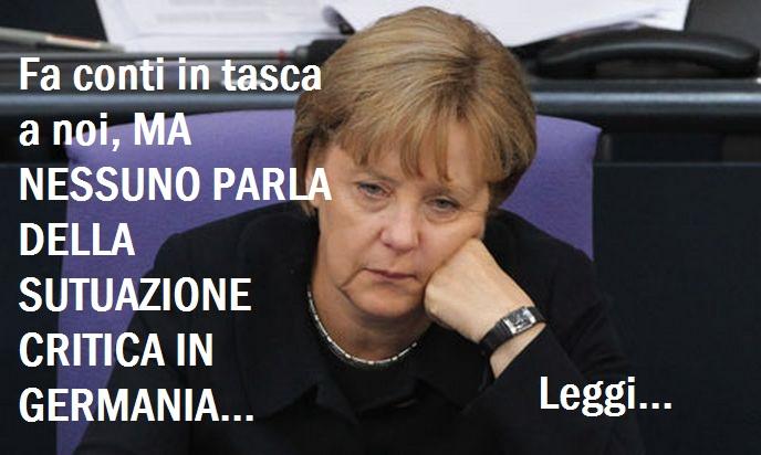 Germania a rischio Default grazie alla sua Montagna di Debiti! Quello che nessuno dice...