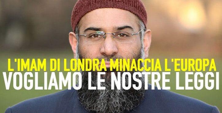 """Le assurdità dell'Imam di Londra:""""ROMA SARÀ NOSTRA.L'Islam sarà il futuro dell'umanità.VI CONQUISTEREMO"""".Video"""
