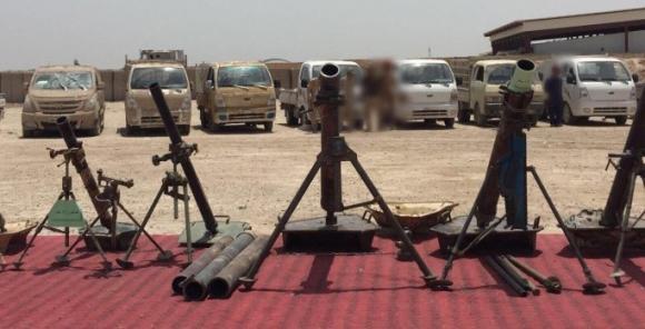 Iraq: Le armi abbandonate dall' Isis in fuga da Falluja sono americane