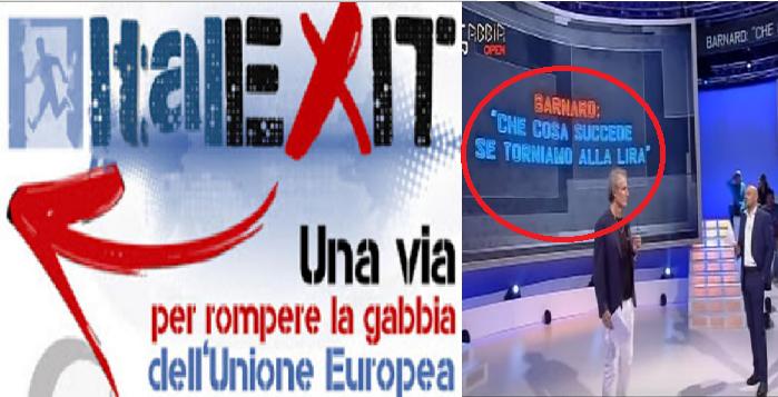 ITALEXIT. La vera domanda è: Cosa succederebbe se tornassimo alla Lira? VIDEO DA VEDERE E DIFFONDERE