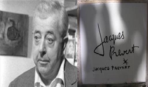 Jacques Prévert poesia d