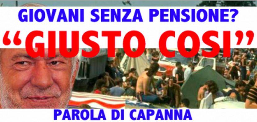 """Mario Capanna la spara grossa: """"I Giovani si meritano la pensione bassa perchè non sanno lottare"""". VIDEO"""