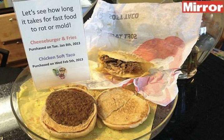Ecco ciò che le non vi fanno vedere sul McDonald. E poi lo chiamano cibo...