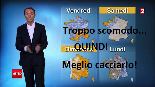 Meteorologo Francese CACCIATO dalla Tv! Ha scritto un libro scomodo sul riscaldamento Globale!