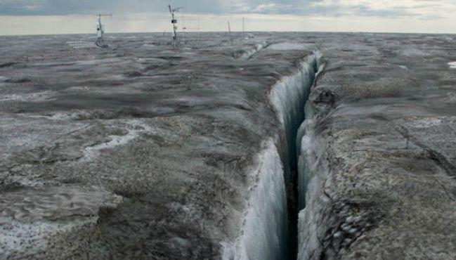 Sapevate che in Groenlandia esiste LA NEVE NERA? E' allarme ambientale...IL VIDEO