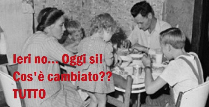 i nostri nonni non soffrivano di allergie alimentari