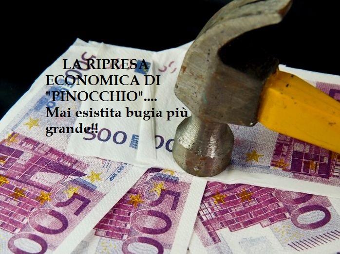 """La Bufala Colossale della """"Ripresa Economica"""":Calano i prestiti Bancari alle famiglie. Sempre disperate!"""