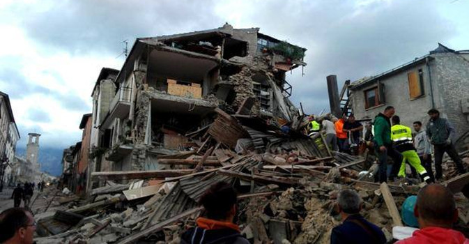 Sei stati UE tagliano i fondi europei per la ricostruzione delle zone terremotate italiane. Ecco quali sono