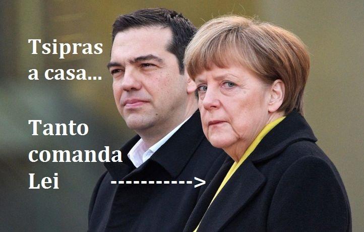 Dimissioni Tsipras! Sicuri di sapere il motivo reale? Nessuno ve lo dice in Tv. L'Europa comanda su tutti...