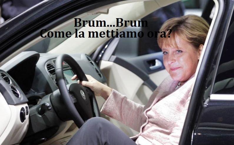 La VOLKSWAGEN imbroglia tutti! Cancelliera Merkel, le magagne non sono solo da noi!