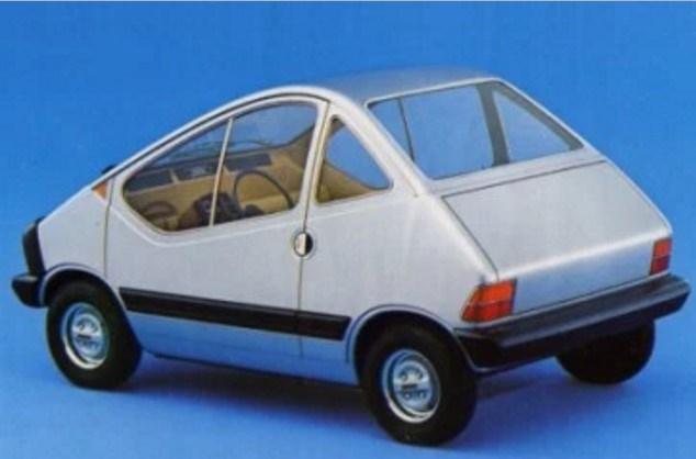 """X1/23:l'auto elettrica della FIAT del 1976""""scomparsa""""dopo la presentazione"""