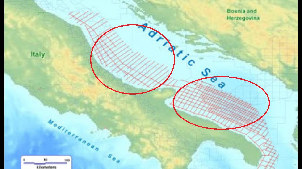 """Spectrum: la""""condanna a morte""""per l' Adriatico (mentre la gente è al mare)"""