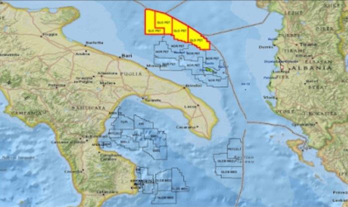 Adriatico: L' Italia autorizza la rapina di petrolio per mano degli stranieri