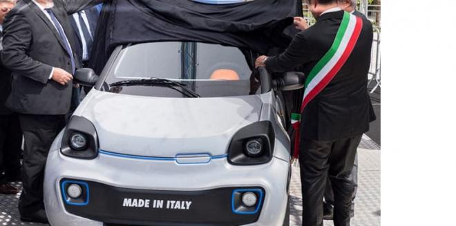 """Ecco l'auto elettrica """"made in Bari"""". 200km con una ricarica"""