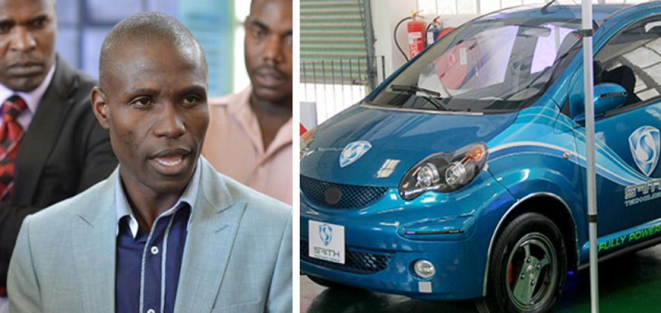 Ha inventato un' auto elettrica che non ha mai bisogno di essere caricata
