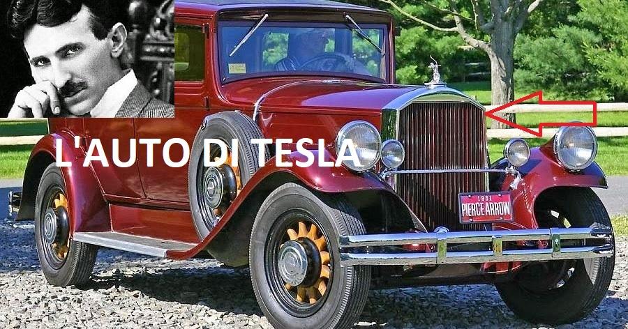 L'automobile spinta dall'etere di Nikola Tesla del 1931