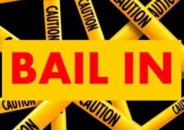 Bail in:ossia i TUOI soldi in banca non sono PIU' sicuri.Ecco cosa comporta,mentre tutti tacciono