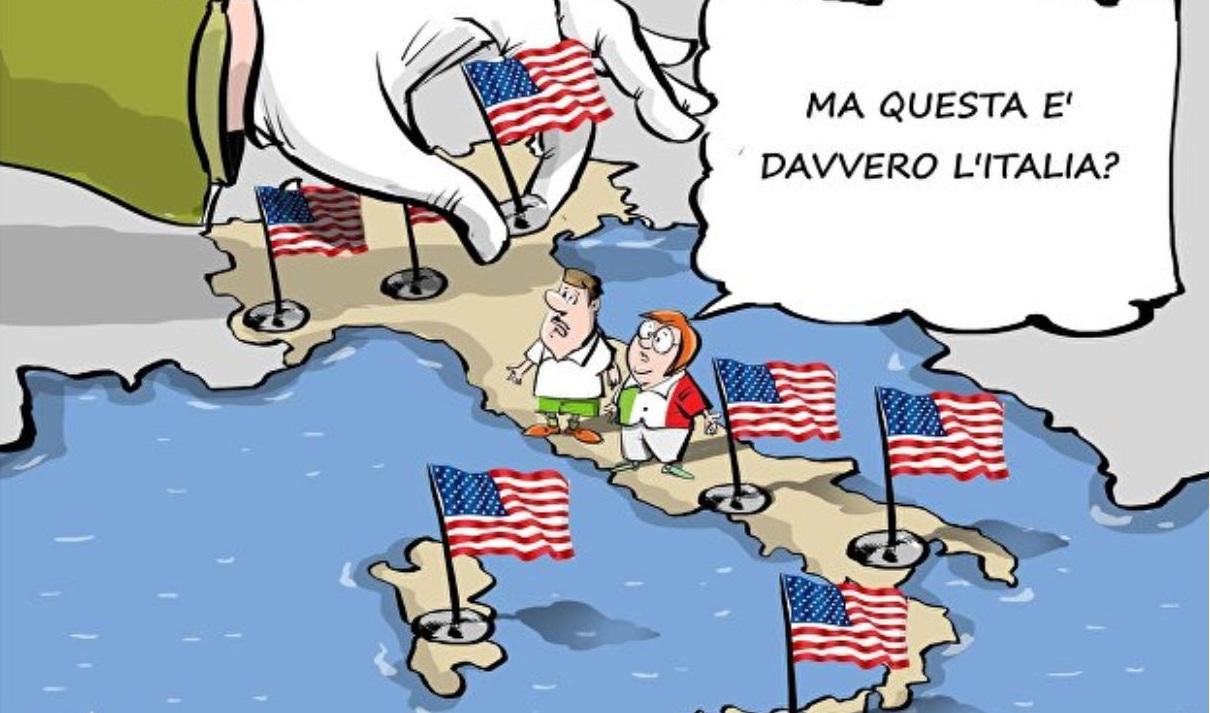 Ben 113 basi americane in Italia,e chi le finanzia?