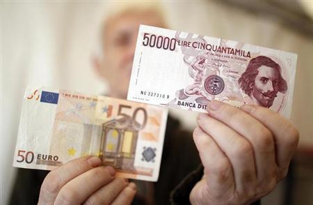 Passaggio Lira Euro.La Consulta accerta che siamo stati rapinati sin dall' inizio. Ecco perchè