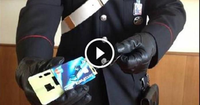 I carabinieri lanciano l'allarme:attenzione a questa truffa al bancomat.Il cash trapping