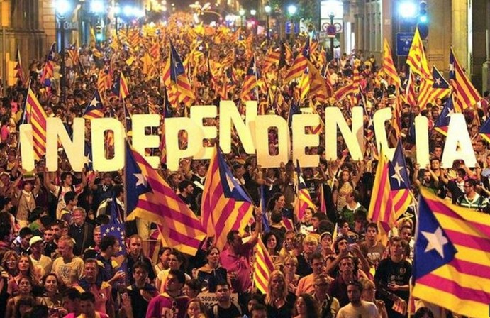 La Catalonia da uno schiaffo all' L'EUROPA dicendo NO. Noi invece siamo senza voce in capitolo
