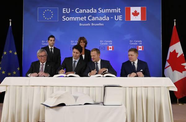 Il CETA : l'accordo tra l'Unione Europea e il Canada che farà fallire molte altre imprese italiane. VIDEO