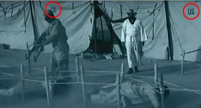 La Cnn invia un filmato di un campo di addestramento dell'isis e...ecco un dettaglio inquietante.VIDEO