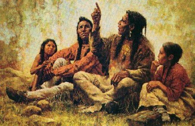 Vivere in gioia e armonia è possibile se solo volessimo.Basta seguire il codice etico dei nativi americani